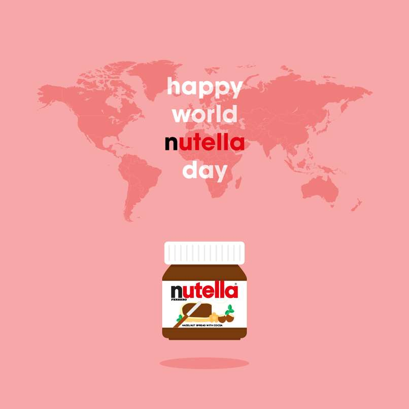 World Nutella Day Wishes Pics