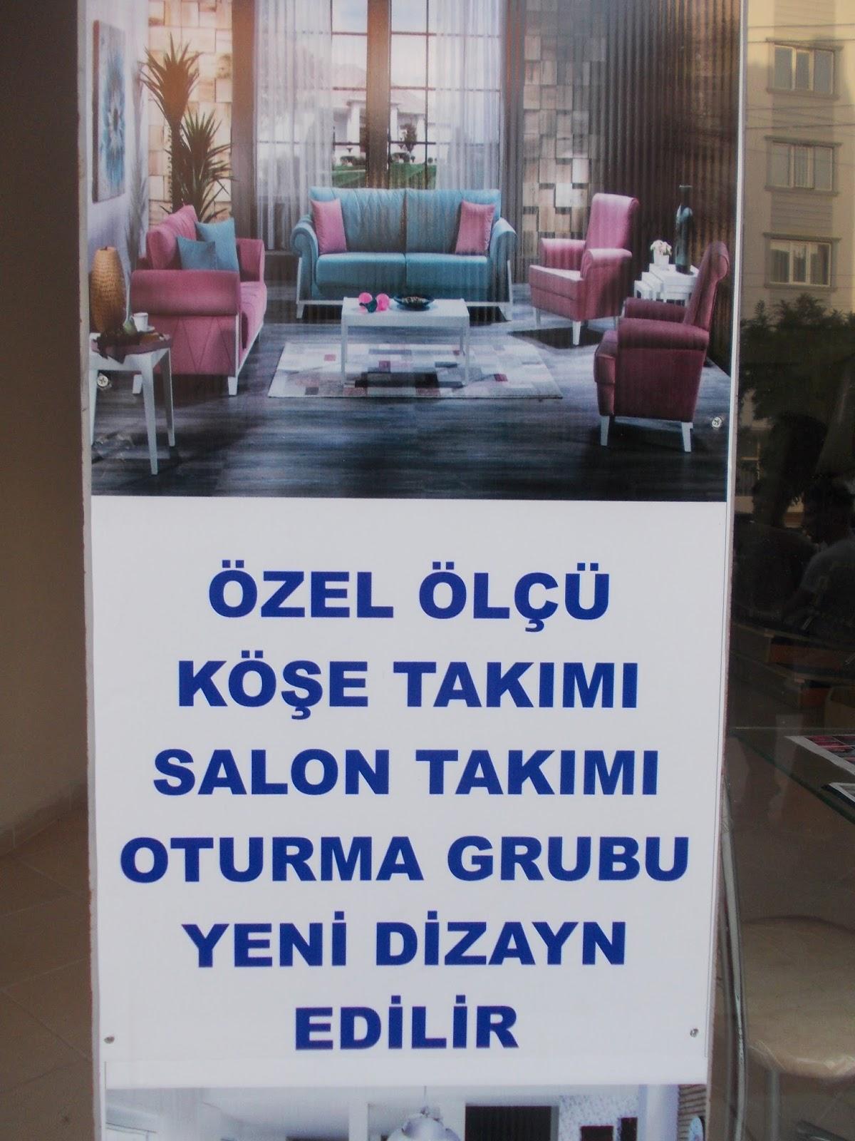 Manisa Ozel Tasarim Kose Takimi Salon Takimi Oturma Grubu