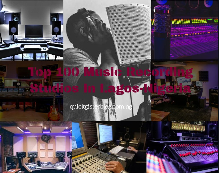 Top 100 Music Recording Studios In Lagos, Find Out Which Is Near You!