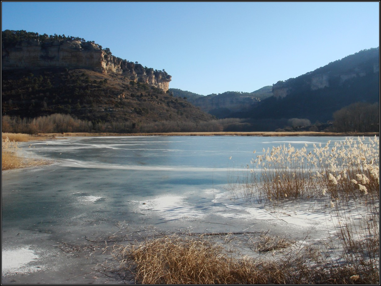La Laguna De Uña helada