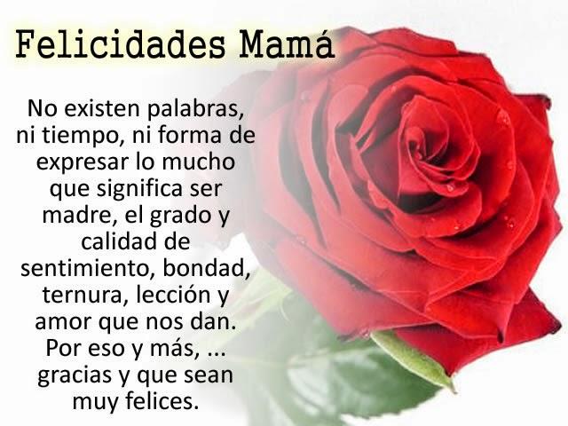 Feliz Dia de las madres, imagenes y mensajes para dedicar el dia de las madres