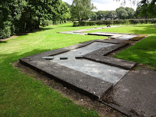 Crazy Golf course at Higher Bebington Recreation Ground
