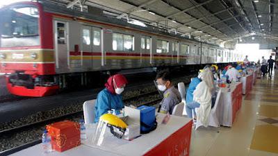 Mulai 24 September 2021, Tarif Rapid Test Antigen di Stasiun Turun Menjadi Rp 45.000