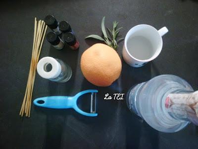 Ingredienti per dedorante per ambienti fai da te