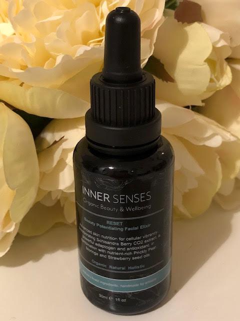 Inner Senses Organic Beauty & Wellbeing  RESET Facial Elixir