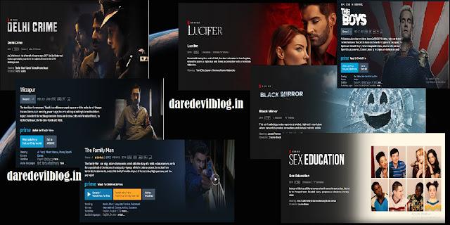 The Boys,Lucifer,Entertainment,Mirzapur,Best Web Series Hindi and English,Black Mirror,Hindi Web Series,Movies/ Web Series,Sex Education,The Family Man,English Web Series,Delhi Crime,