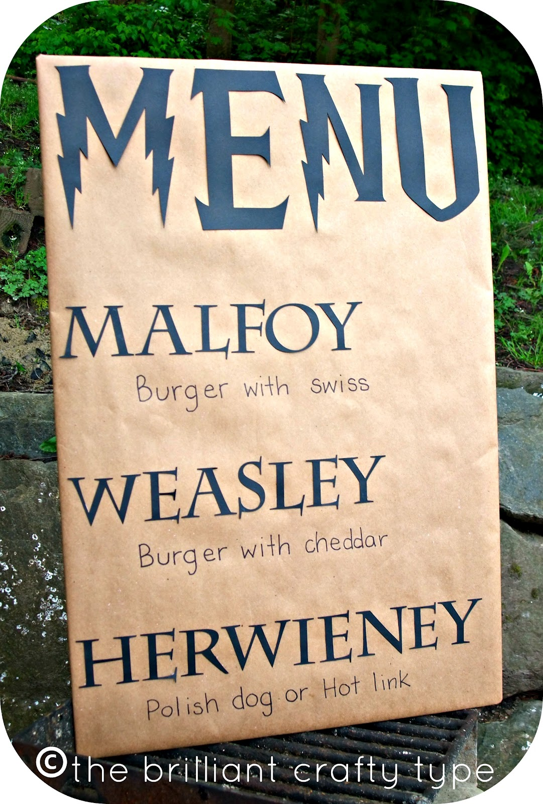 The Brilliant Crafty Type A Harry Potter Birthday Reveal