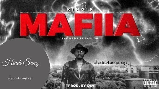 MAFIIA (EXPLICIT) LYRICS - King | New Song | Lyrics4songs.xyz