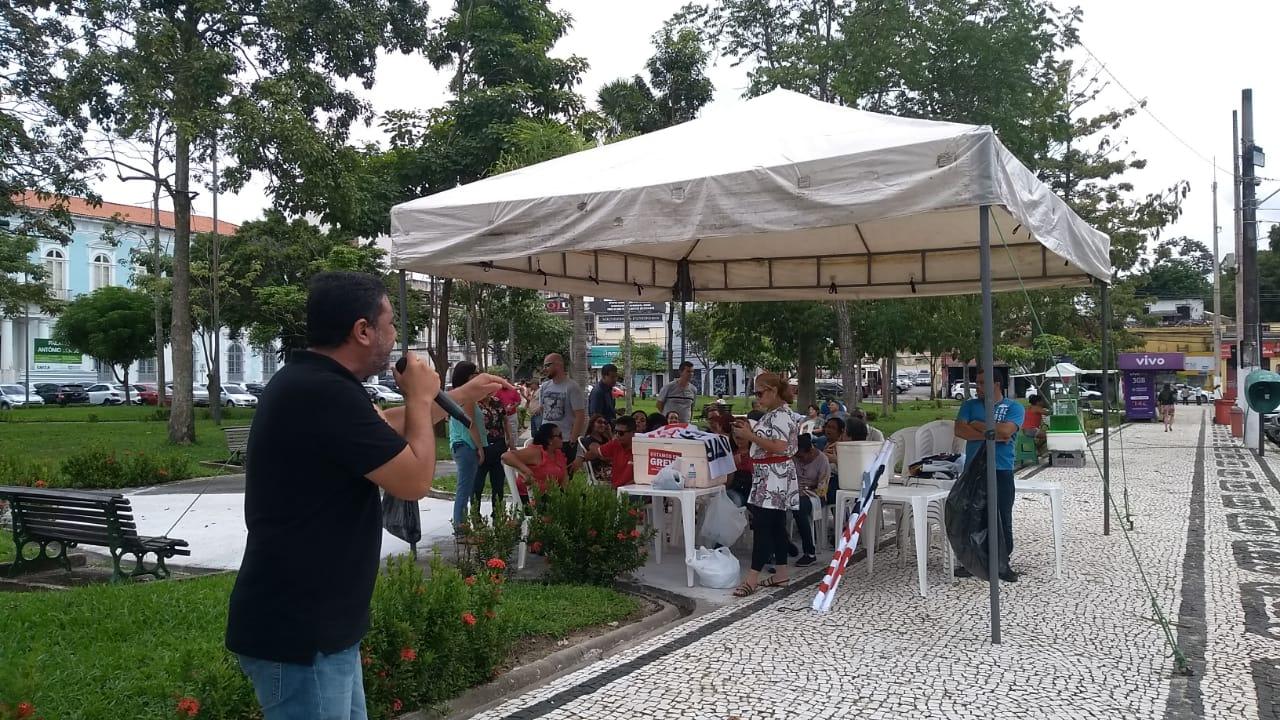 Servidores do Detran no Pará em greve há 44 dias são recebidos na Alepa