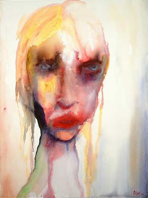 John the Beaten, pintura de Marilyn Manson.