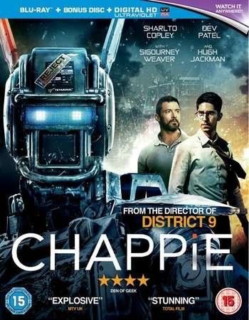 Chappie (2015) Dual Audio 480p