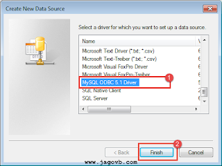 Cara Konfigurasi ODBC MySQL