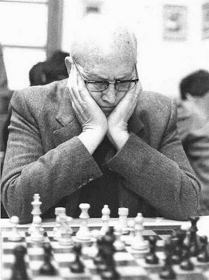 Àngel Ribera i Arnal en su última etapa como ajedrecista