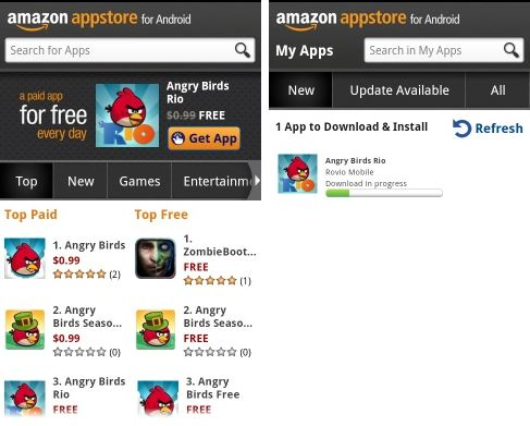amazon app store best similar app store to google playstore for android smartphone