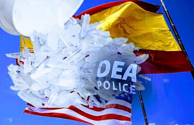 La DEA desmanteló laboratorio clandestino de metanfetamina en Estados Unidos con apoyo de la policía española