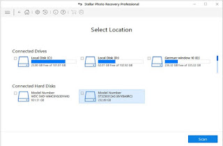 Stellar Photo Recovery Select Location