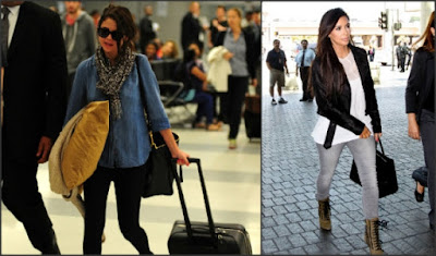 f51d02f56c6 Έτοιμη για ταξίδι; 10 celebrities σου προτείνουν υπέροχα outfits για να  ταξιδέψεις με στυλ!