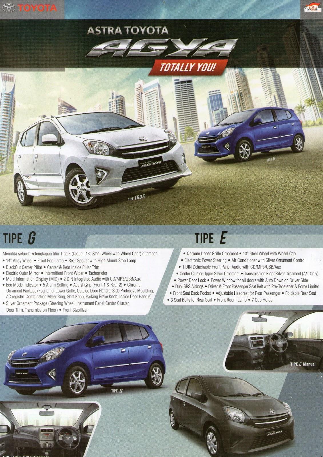 Harga New Agya Trd Grand Veloz 2016 Pt Wira Megah Profitamas I Toyota