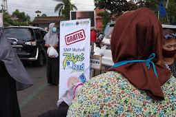 Takjil On The Road, SMP Mutual Tebar 3500 Paket