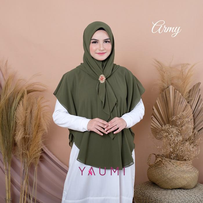 Yaumi Hijab Khimar Salma Army