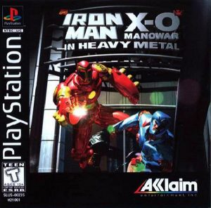 Baixar Iron Man and X-O Manowar in Heavy Metal (1996) PS1