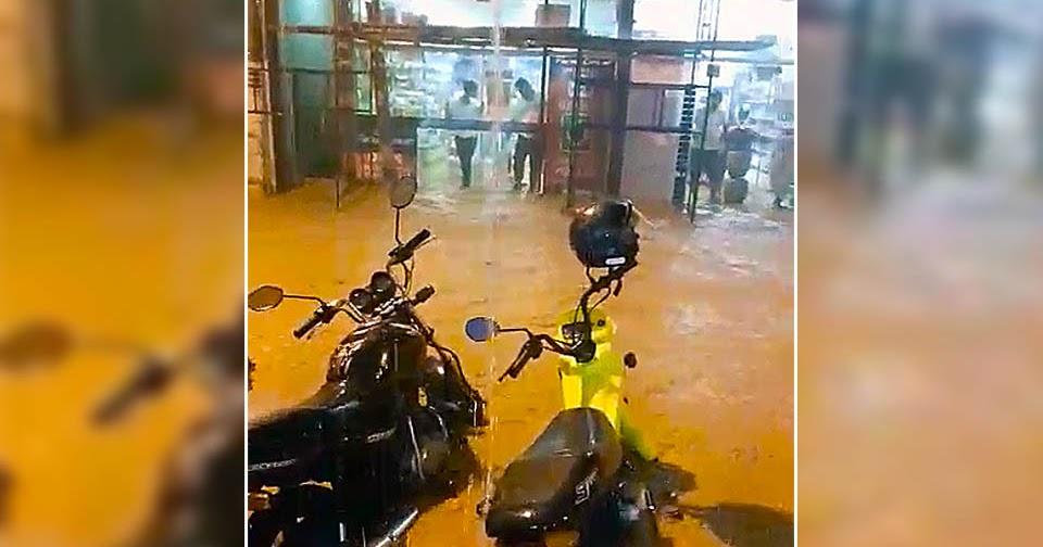Notícias de Cataguases e Região: Forte chuva causa transtornos em Astolfo Dutra - Mídia Mineira