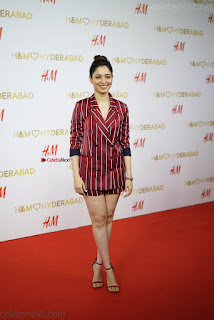 Tamannah Bhatia Exclusive in Red Blazer and Red Shorts Spicy Pics ~  Exclusive 006.JPG