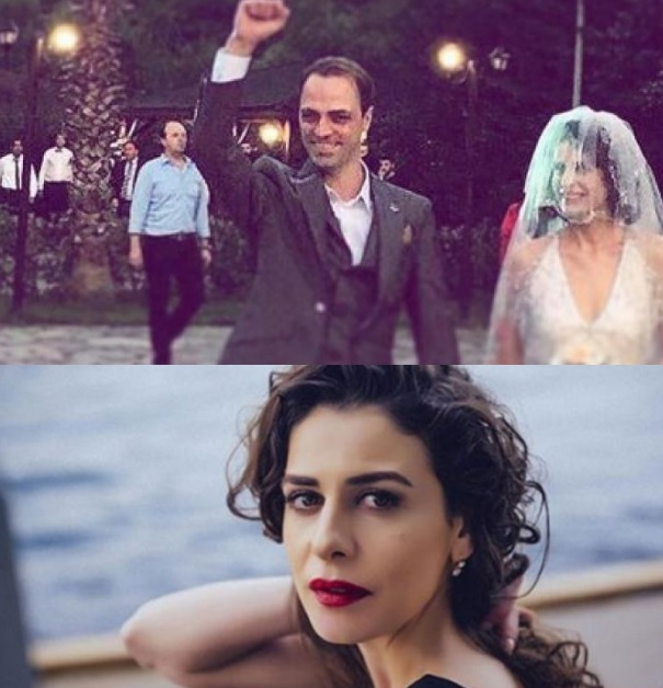 Turkish actress married to an Albanian