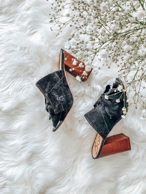 black bow sam edelman mules from summer to fall