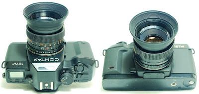Contax 167 MT Body #705, Yashica ML 50mm 1:1.7 #802