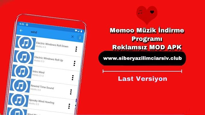 Memoo Müzik İndirme Programı v1.2.6 Reklamsız Mod APK