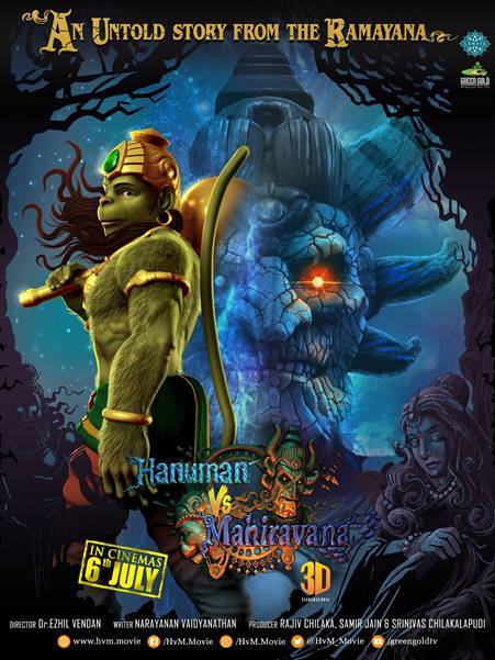 Hanuman vs Mahiravana 2018 Hindi 480p WEB HDRip 250Mb x264
