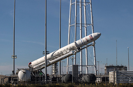 Antares rocket launch from Wallops Island postponed