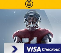 Promoção NFL Super Bowl Visa Checkout EasyTaxi visa.com.br/EasyTaxi