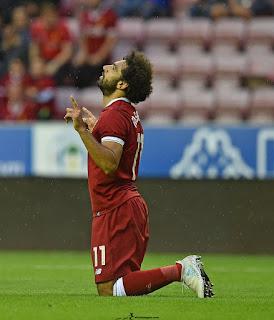 صور محمد صلاح مع ليفربول