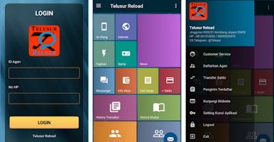 Tampilan Aplikasi Android Telusur Reload