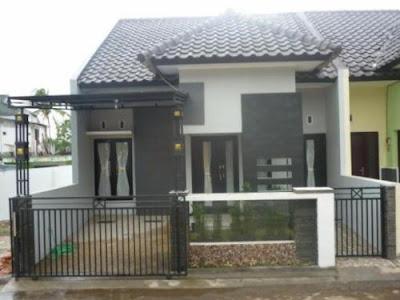 pagar rumah minimalis untuk rumah type 36