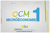 Microéconomie : QCM 1