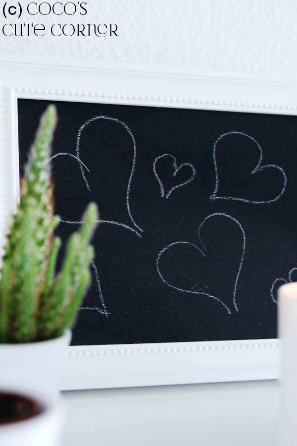 Coco\'s Cute Corner: Tafel DIY - mit Tafelfarbe zur Wunschtafel