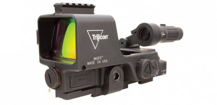 Армія США обрала коліматорний приціл Trijicon MGRS для кулеметів