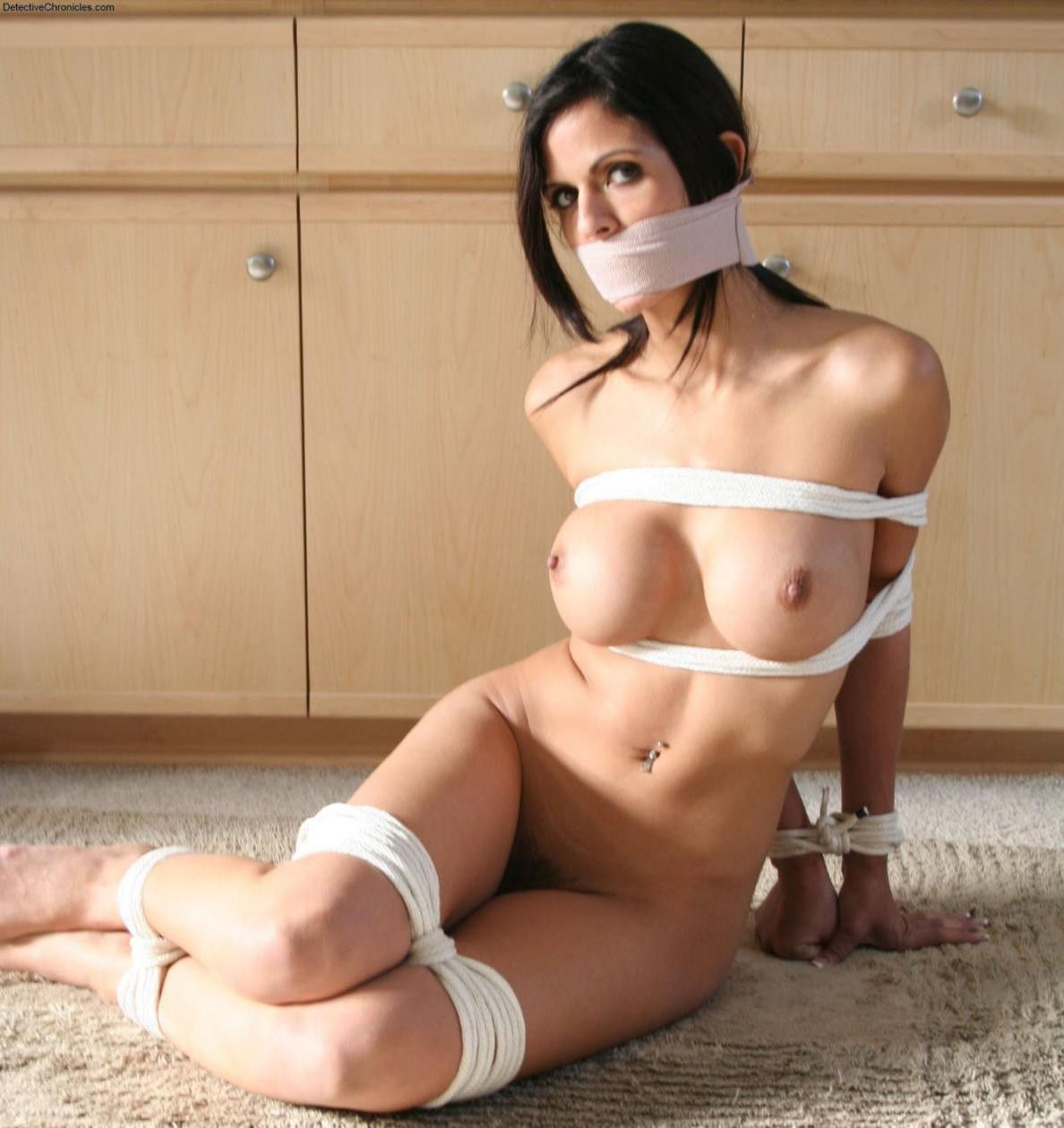 Teen Tied Naked
