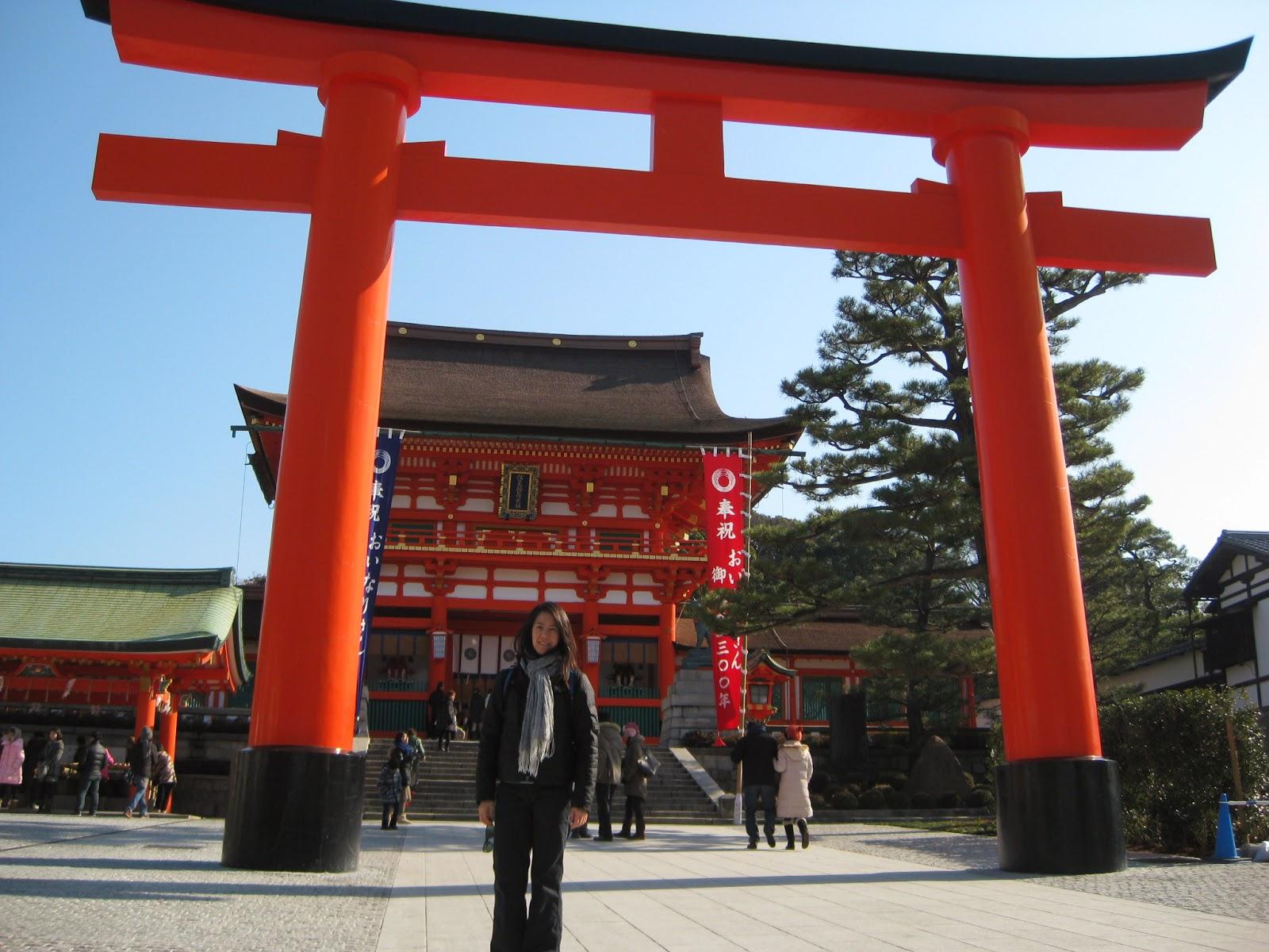 Kyoto - Heading up to Fushimi Inari-taisha Shrine
