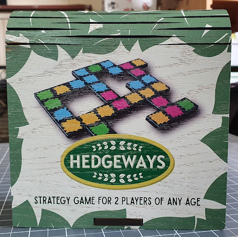 Hedgeways strategy game for 2 players of any age. Sent for review.