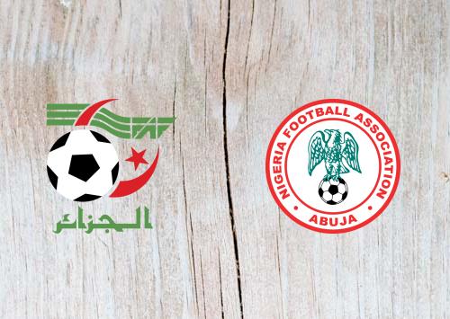 Algeria vs Nigeria Full Match & Highlights 14 July 2019