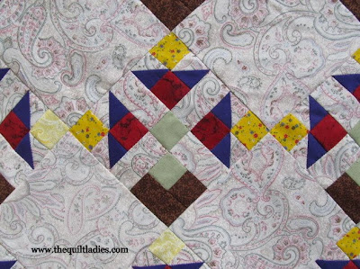 Turn your Quilt Fabric over and See what YOU Have