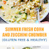Summer Fresh Corn and Zucchini Chowder
