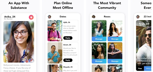 Which is the best dating app for india
