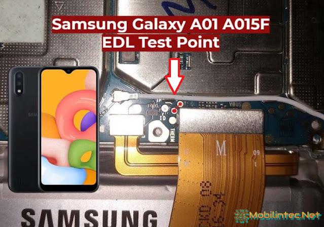 Samsung Galaxy A01 A015F Test Point EDL Mode