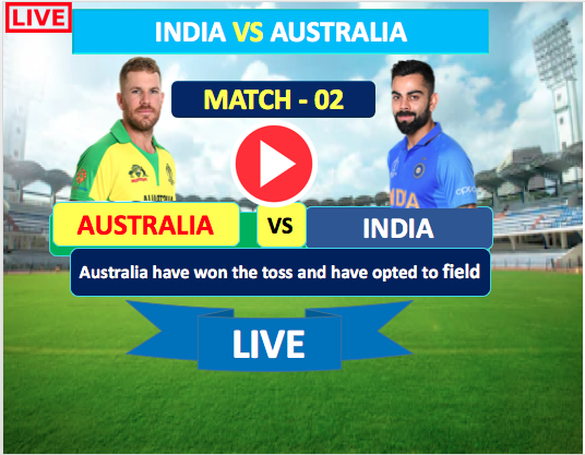 2nd  One Day Match :  India vs Australia - 17 Jan, India is bating first .