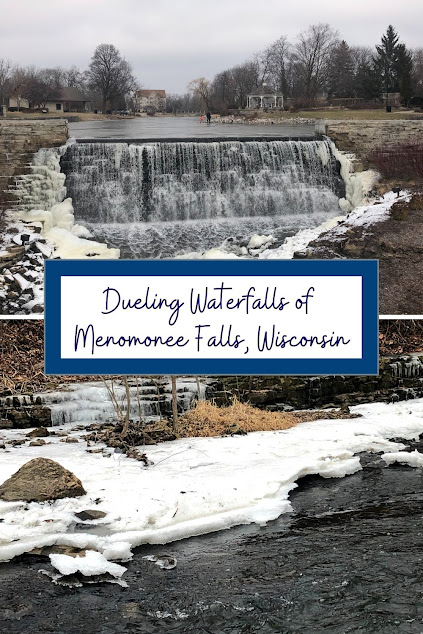 Visiting the Dueling Waterfalls of Menomonee Falls, Wisconsin